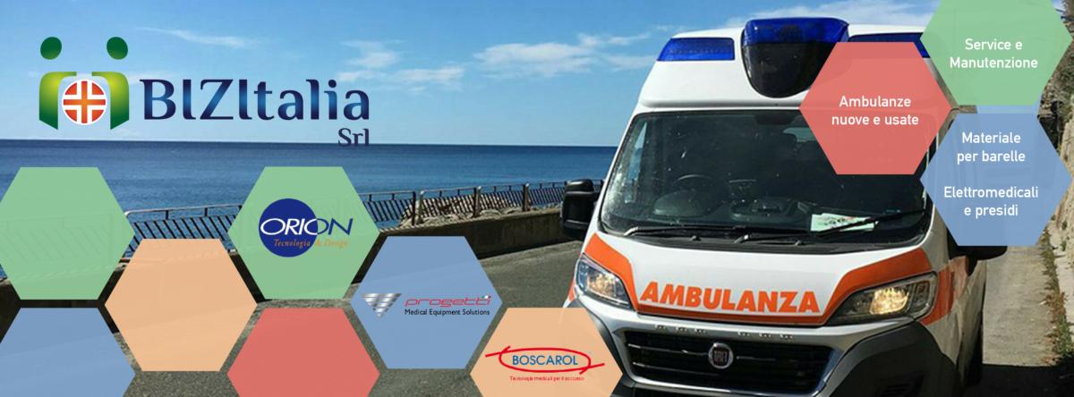 vendita ambulanze, ambulanze