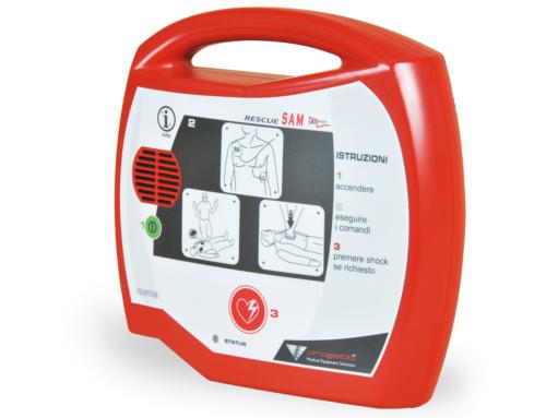 Defibrillatore semiautomatico DAE Rescue Sam