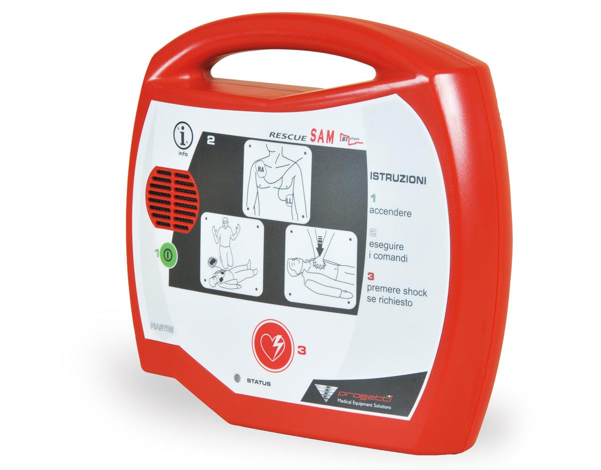 defibrillatore-rescue-sam